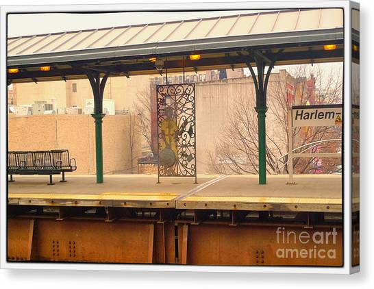 Harlem 2 Canvas Print by Susan  Lipschutz