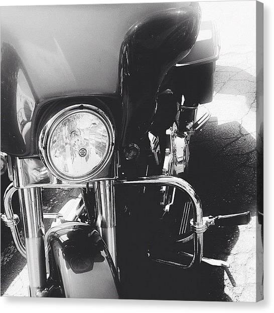 Harley Davidson Canvas Print - #harley by Brandon L. Harris