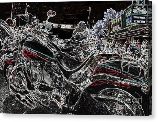 Harley Davidson Style 3 Canvas Print