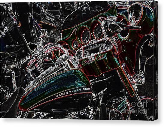 Harley Davidson Style 4 Canvas Print