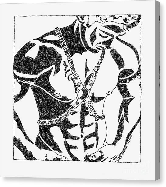 Harnessed In Chains Drawing By John Stofka