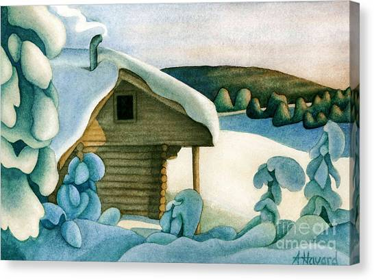 Harold Price Cabin Canvas Print