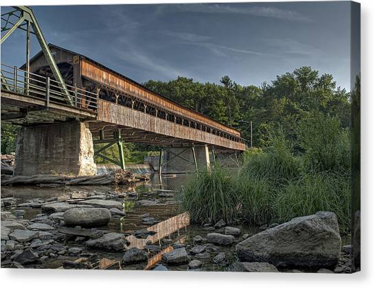 Harpersfield Road Bridge Canvas Print