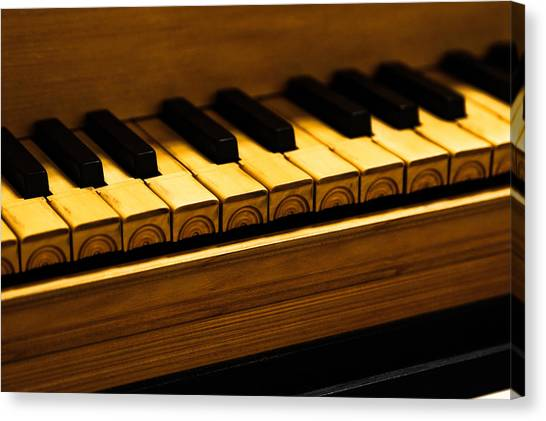 Harpsichords Canvas Print - Harpsichord - One by Sam Hymas