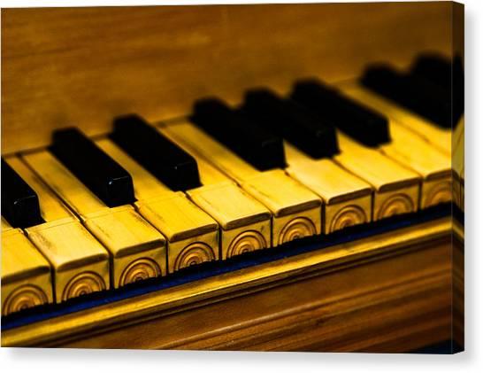 Harpsichords Canvas Print - Harpsichord - Three by Sam Hymas