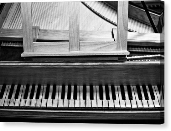 Harpsichords Canvas Print - Harpsichord - Two by Sam Hymas