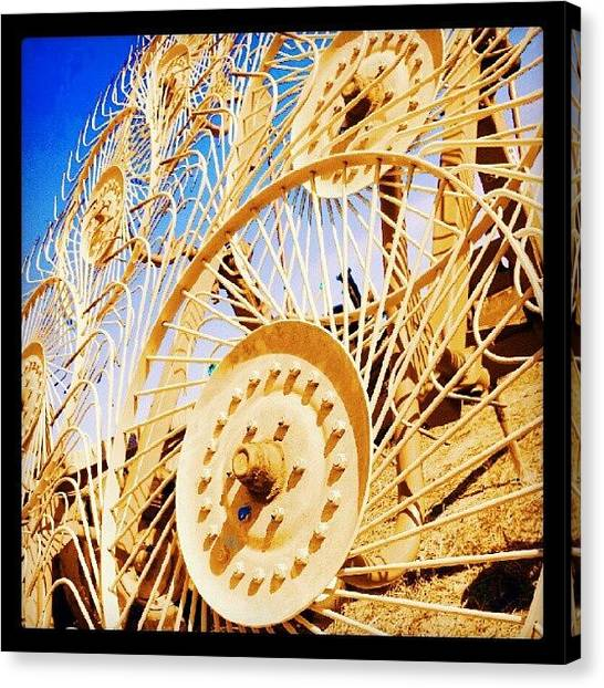 Harvest Canvas Print - Harvest Time by Editor J