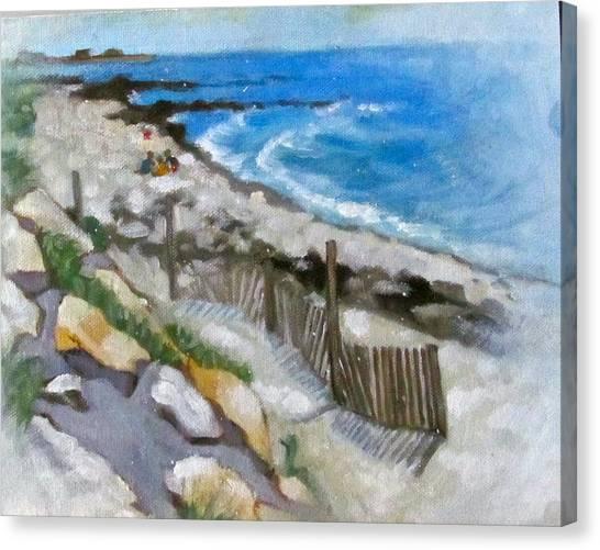 Harwich Port Beach Canvas Print