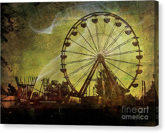 Haunted Midway Canvas Print