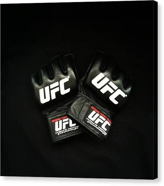 Ufc Canvas Print - Have Yet To Knock Bitches Out With by Anthony Sclafani