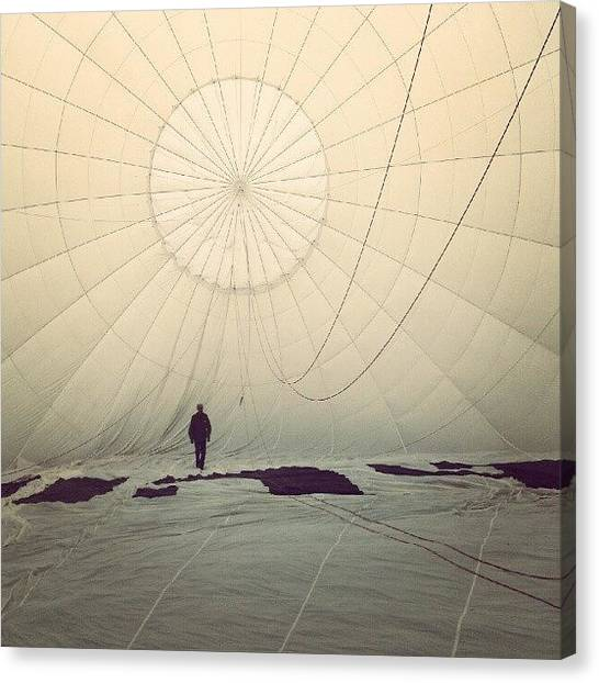 Hot Air Balloons Canvas Print - Have You Ever Been Inside A Hot Air by Tess Walther