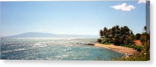 Hawaiian Coastal View Canvas Print