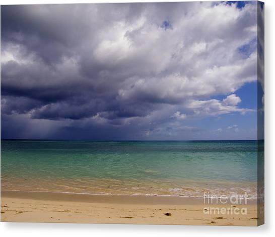 Hawaiian Storm Canvas Print by Kimberley Bennett