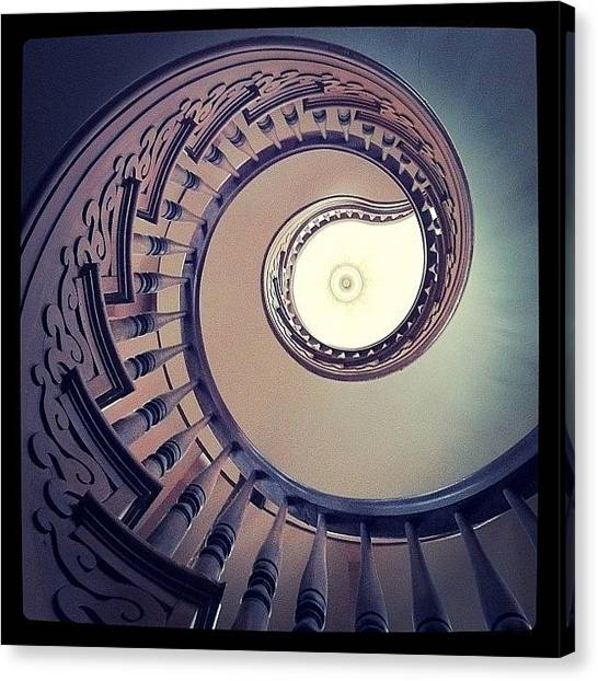 Georgia Canvas Print - Hay House Spiral. Love This House! by James Davidson