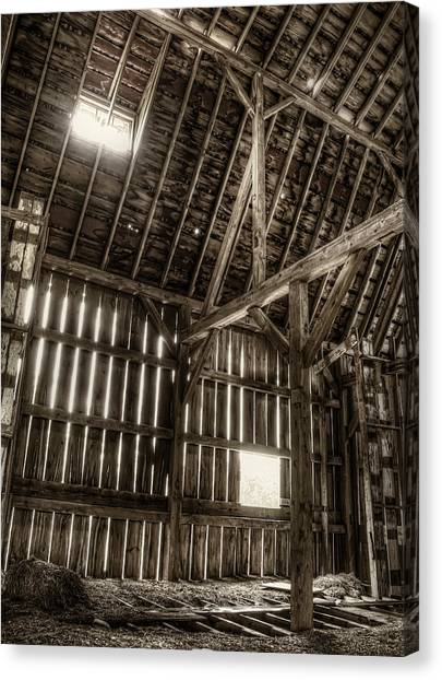 Barn Canvas Print - Hay Loft by Scott Norris