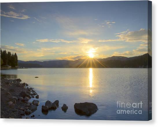 Hayden Sunrise Canvas Print
