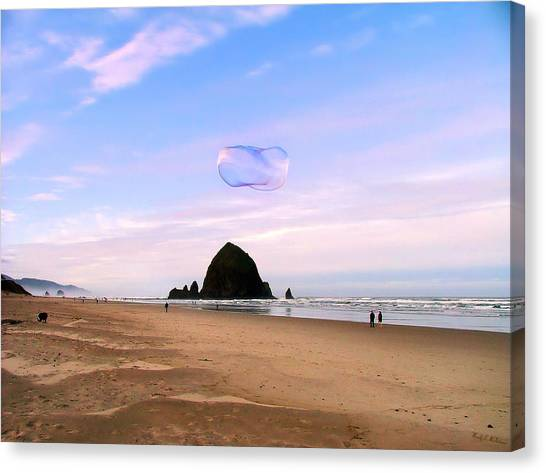 Haystack Bubble Canvas Print