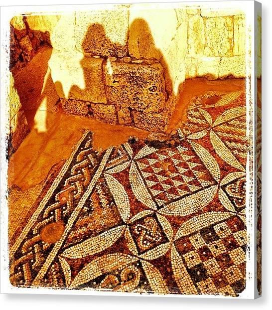 Roman Art Canvas Print - #hdr_lovers #israel #instahub #travel by Kim Cafri