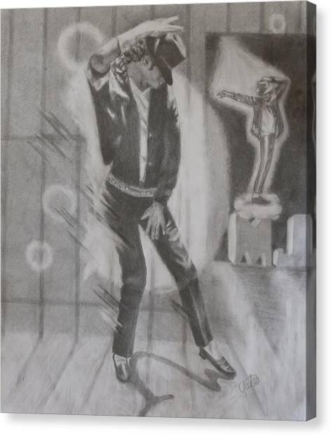 He Still Dances Canvas Print by Joanna Gates