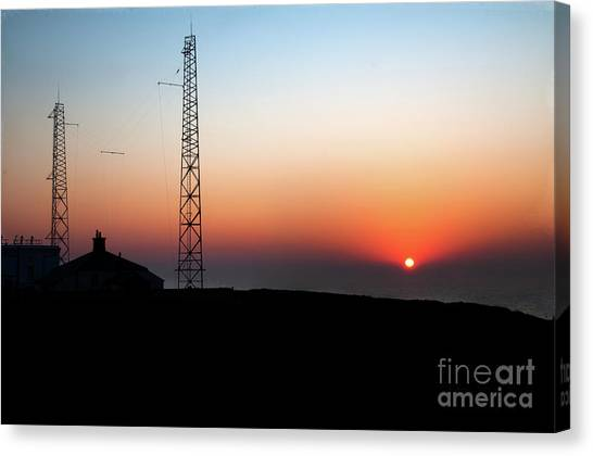 f7c412e1e Fog Horn Canvas Print - Headland Sunrise by David Hollingworth
