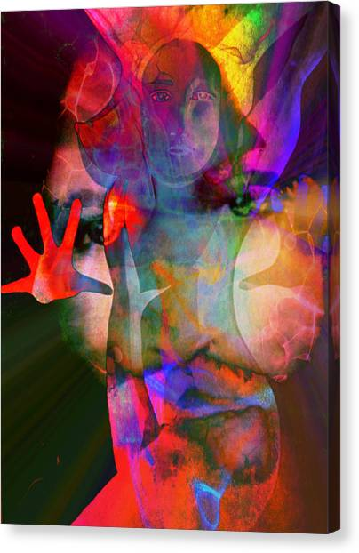 Healing Magdalene Canvas Print