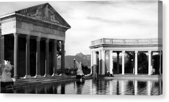 Hearst Castle Pool Canvas Print