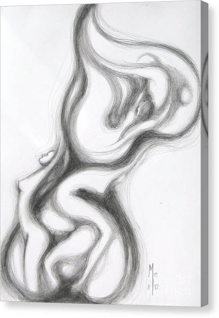 Heart Lariat Canvas Print