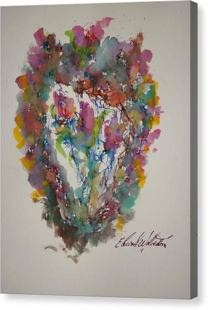 Hearts Pleasures Canvas Print by Edward Wolverton