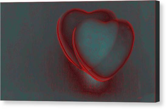 Hearts-r Canvas Print by Ines Garay-Colomba