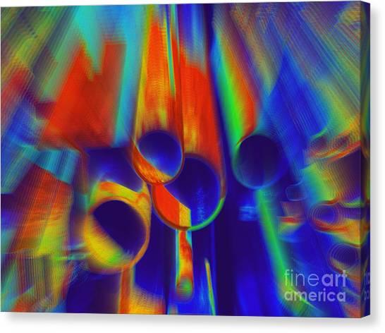 Heat Canvas Print by Irina Hays