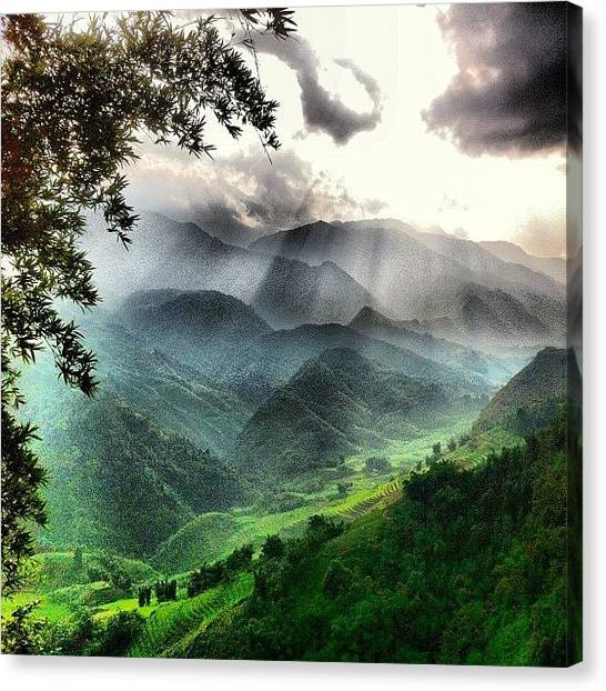 Vietnamese Canvas Print - #heaven On #earth #sapa #vietnam by Universal Traveller