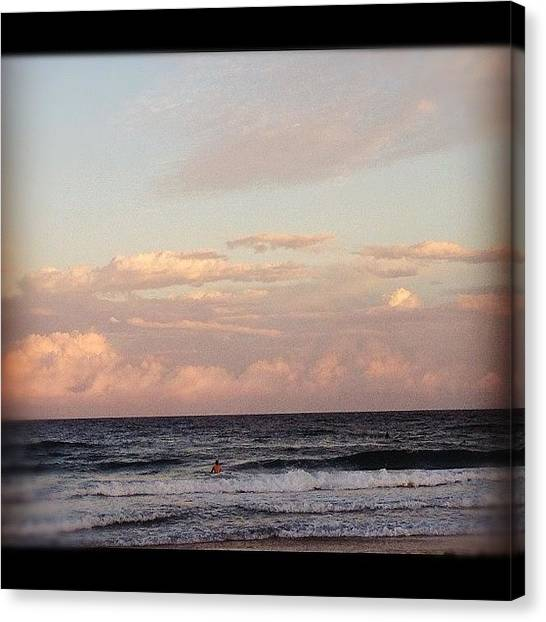 Surfing Canvas Print - Hefefied. #hefe #sunset #ignation by Emily W