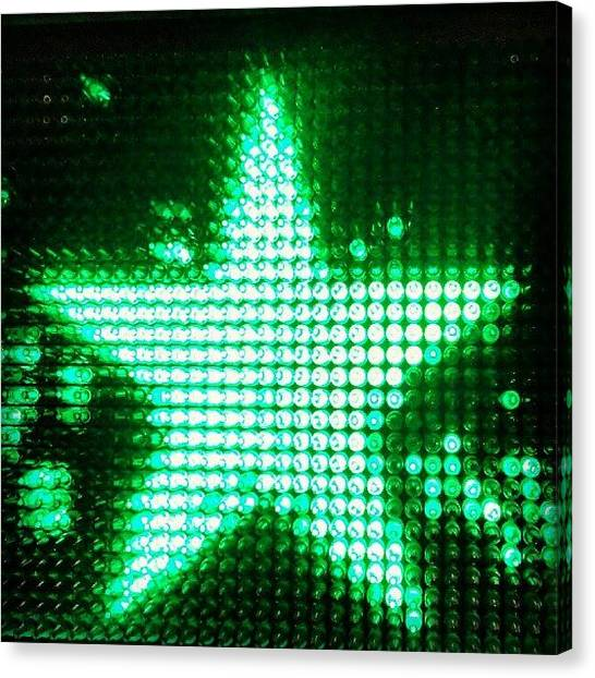 Beer Canvas Print - #heineken #star #beer by Stan Chashchnikov