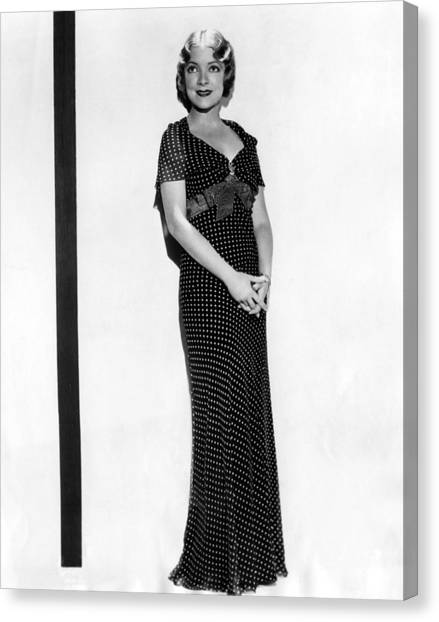 Helen Hayes, 1932 Canvas Print by Everett