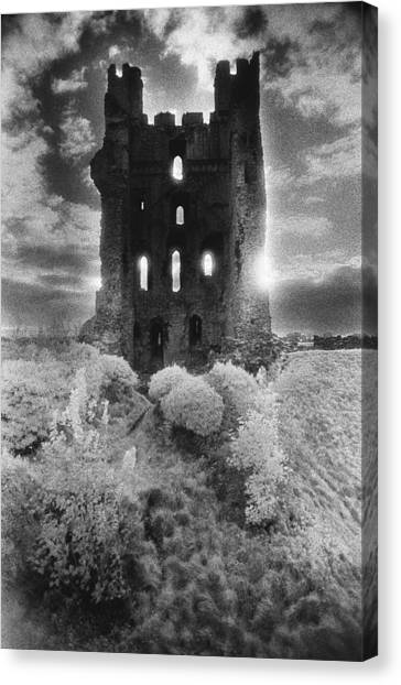 Dungeons Canvas Print - Helmsley Castle by Simon Marsden