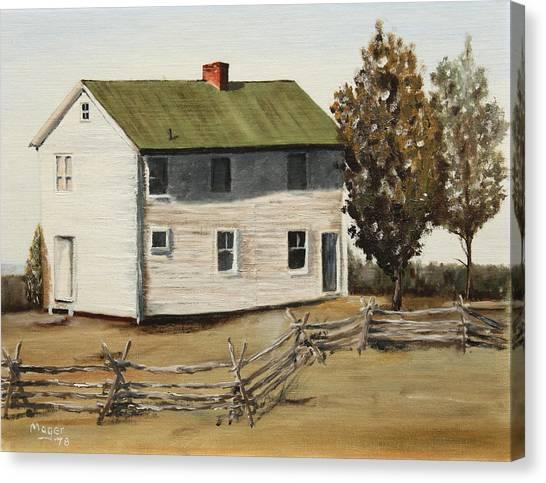Henry House Canvas Print