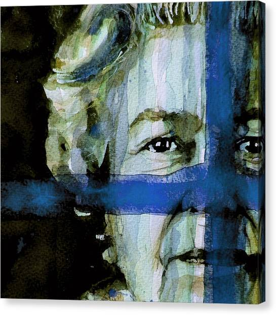 Queen Elizabeth Canvas Print - Her Majesty's A Pretty Nice Girl by Paul Lovering
