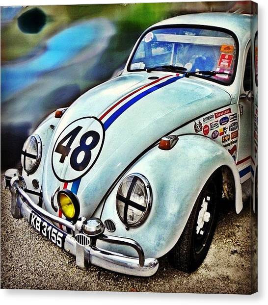 Volkswagen Canvas Print - Herbie Goes To Chiang Mai 👀 by Richard Randall