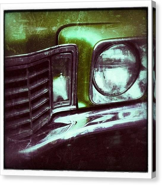 Grills Canvas Print - Here We Go! A Little #snapseed, A by Ilana Shamir