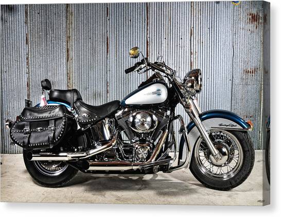 Heritage Softail Canvas Print