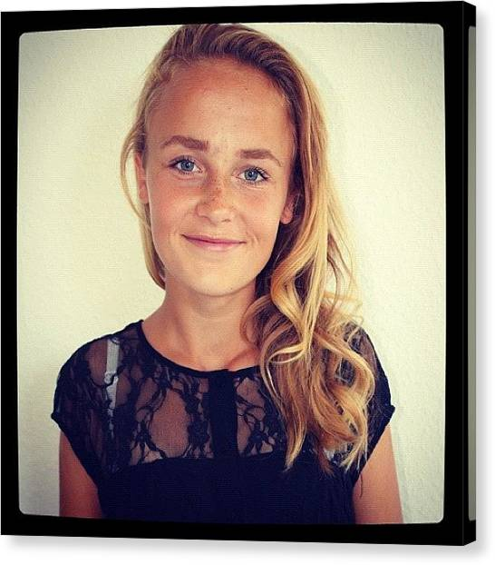 Irises Canvas Print - #hey #me #girl #summer #denmark #twin by Iris Gronbak