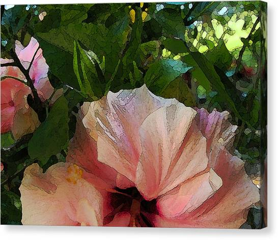 Hibiscus Seclusion Canvas Print