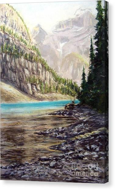 Hidden Gem In The Rockies Canvas Print