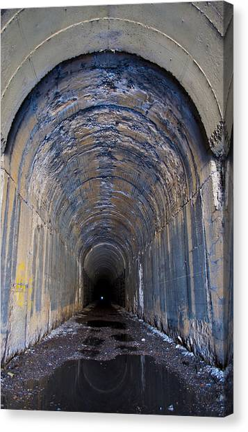 Hidden Tunnel Canvas Print