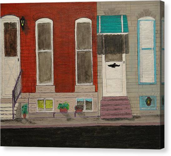 Highlandtown Canvas Print