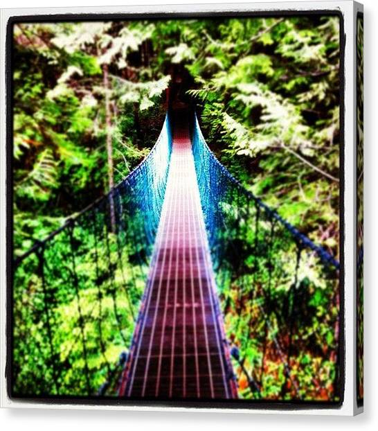 Rainforests Canvas Print - #hiking The #juandefuca #trail #trees by Eric Prudhomme