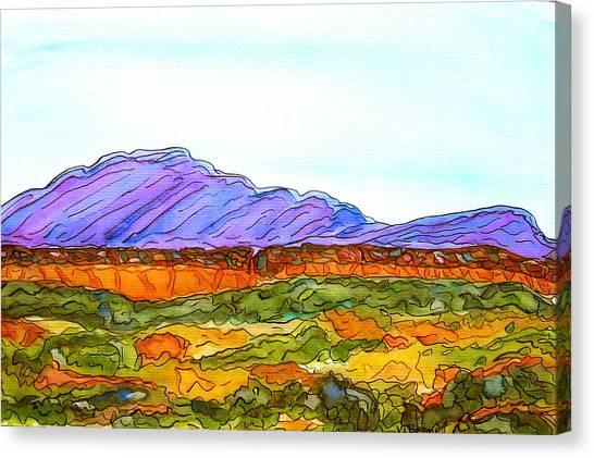Hills That Nourish Canvas Print