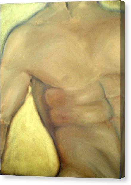 Him Canvas Print by Sheila Tajima