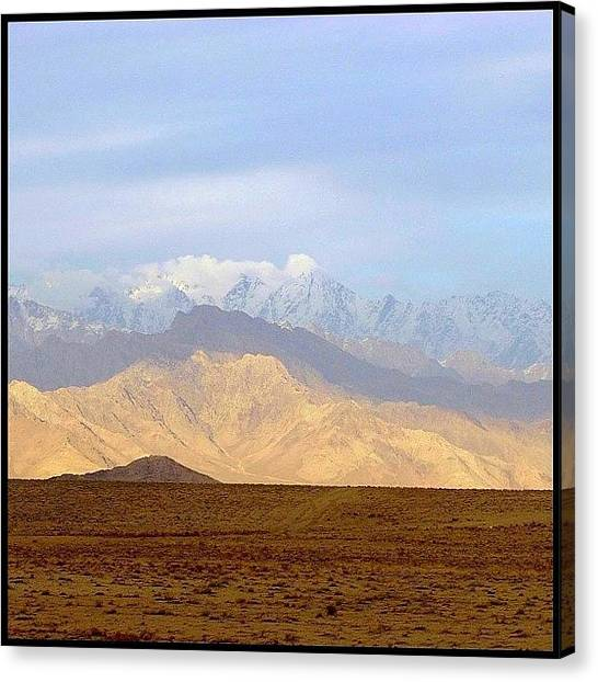 War Canvas Print - Hindu Kush by Mark B