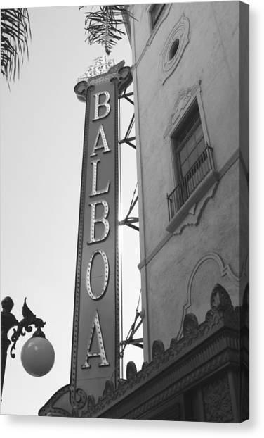Historic Balboa Theater Canvas Print